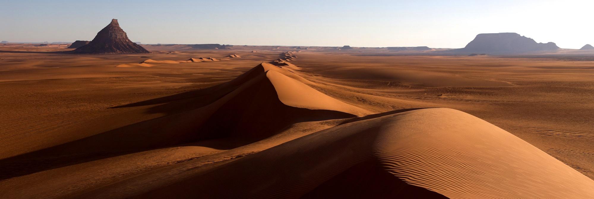Dünenketten von Derbilie, Sahara, Tschad