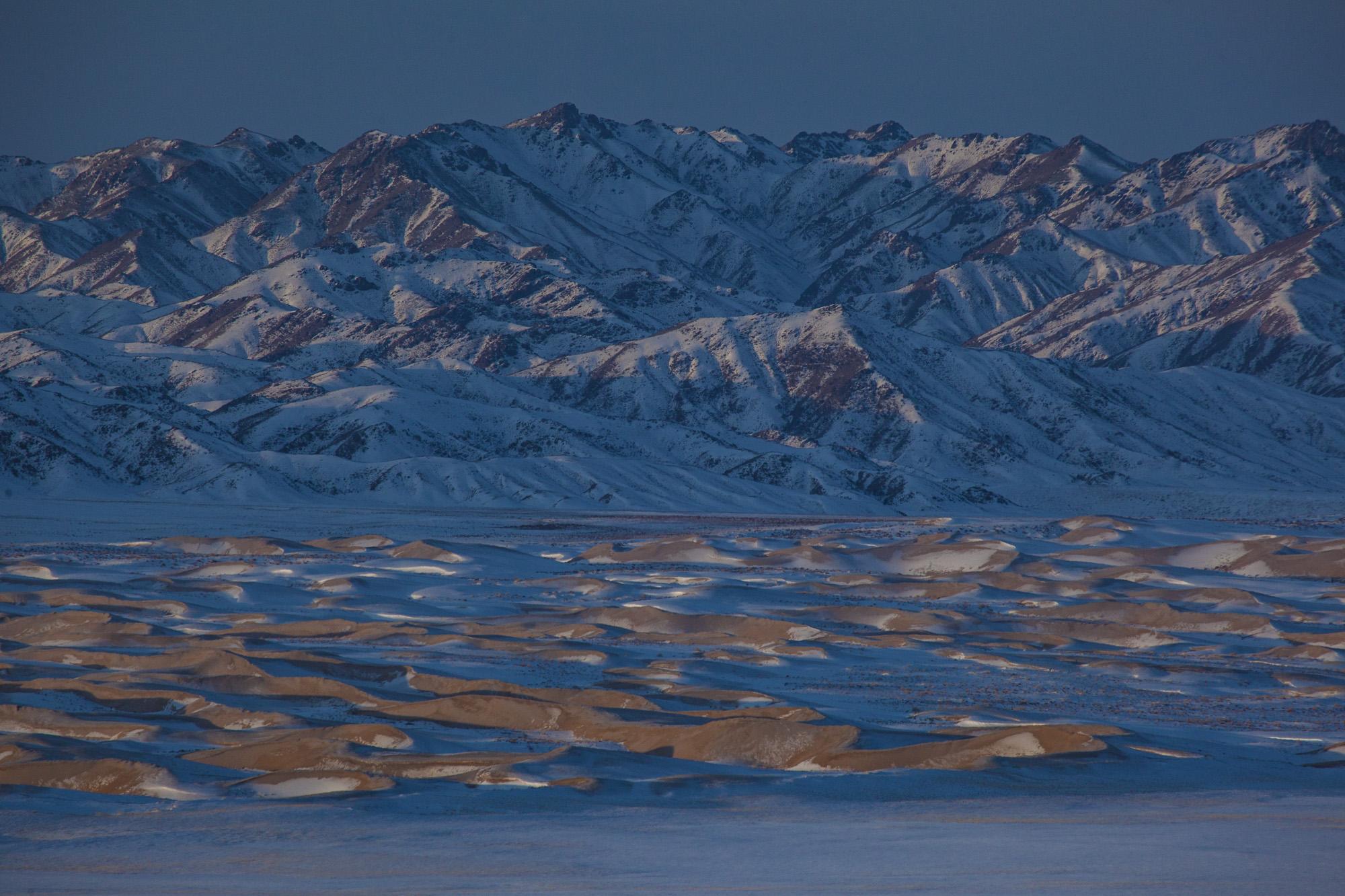 Khongoryn Els, Wüste Gobi, Mongolei