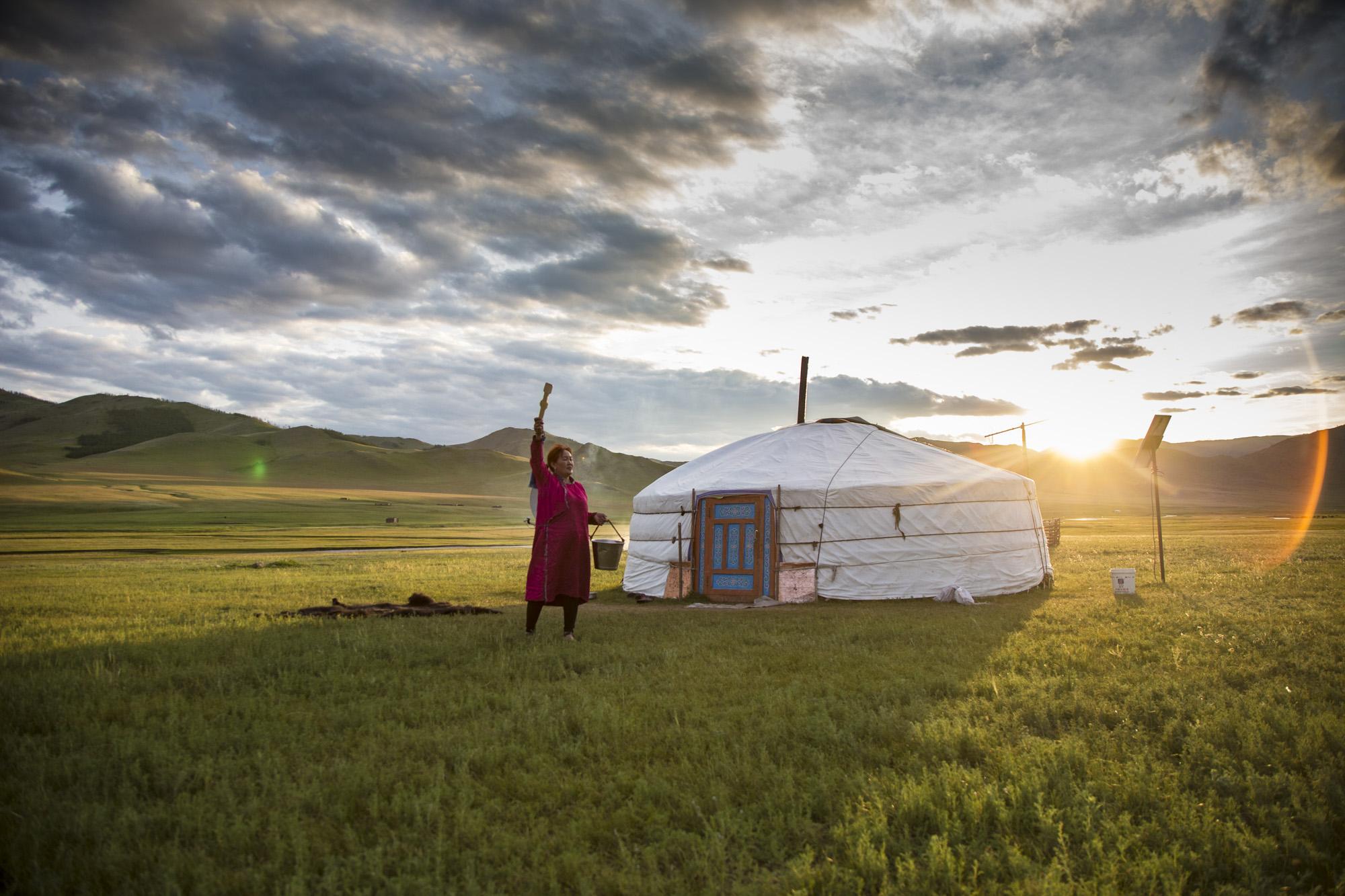 Jurte Mongolei